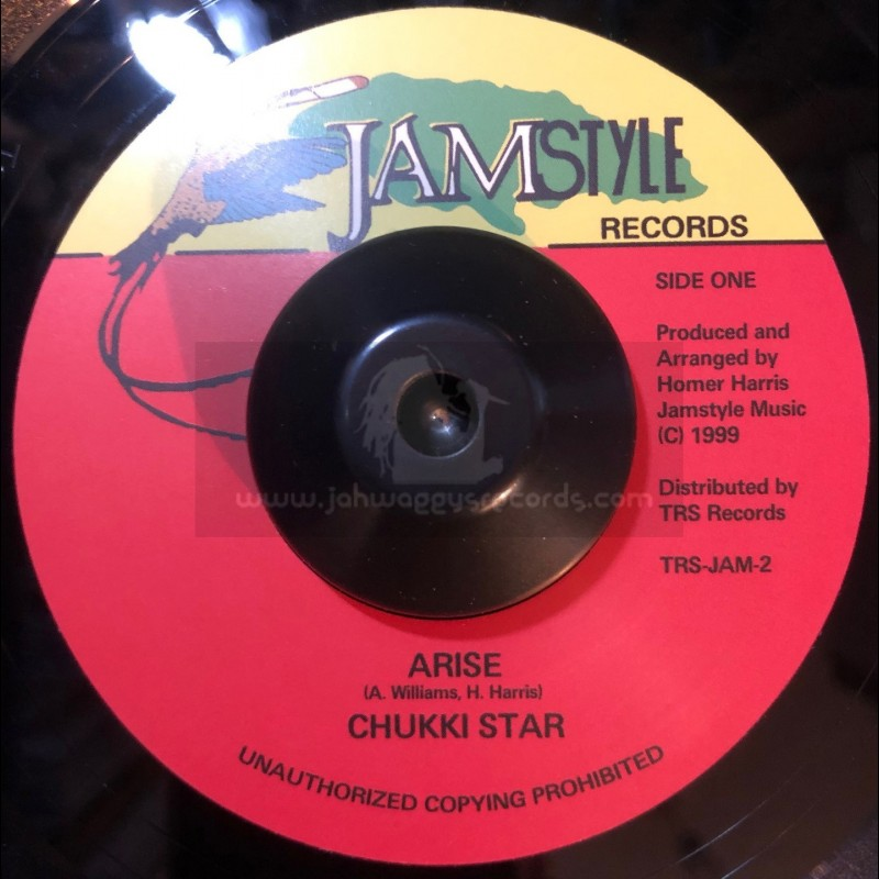 "Jamstyle Records Records-7""-Arise / Chukki Star"