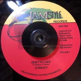 "Jamstyle Records Records-7""-Ghetto Life / Zumjay"