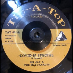 "Tip-A-Top Records-7""-Covid-19 Special / Sir Jay & The Ska-tanauts + Lockdown / Sir Jay & The Ska-tanauts"