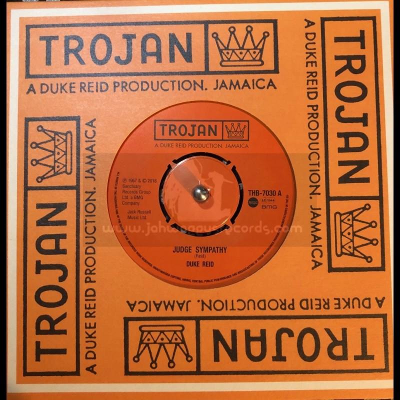 "Trojan Records-7""-Judge Sympathy / Duke Reid + Never To Be Mine / Judge Sympathy"