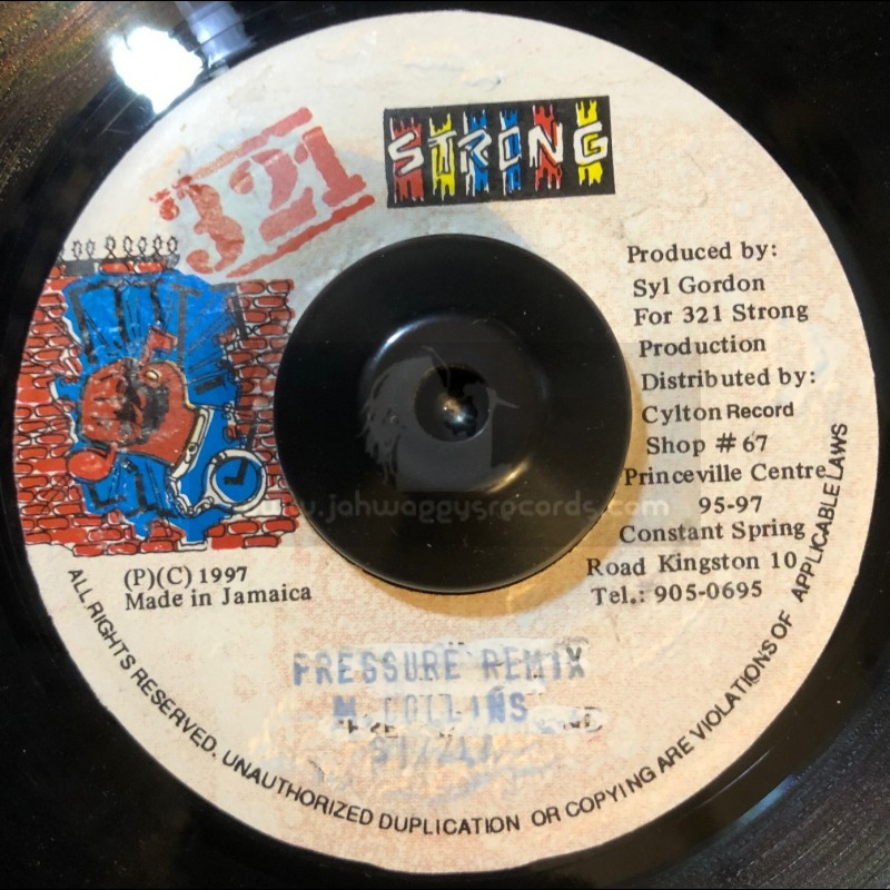 "321 Strong-7""-Pressure Remix / Sizzla"