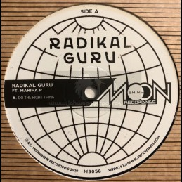 "Moonshine Recordings-12""-Do The Right Thing / Radikal Guru feat. Marina P"