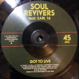 "Acid Jazz-7""-Got to Live /..."