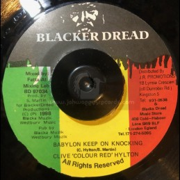 "Blacker Dread-7""-Babylon..."