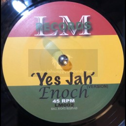 "LM Records-7""-Yes Jah / Enoch"