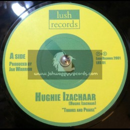 """Lush Records-7""""-Thanks And..."""