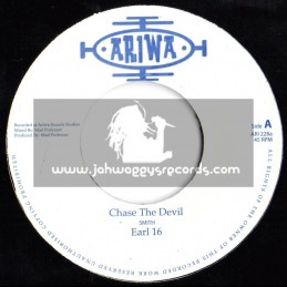 "Ariwa-7""-Chase The Devil / Earl 16"