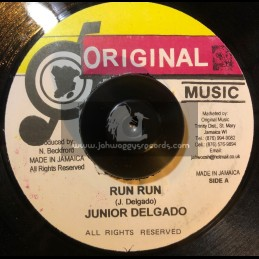 "ORIGINAL MUSIC-7""-RUN RUN /..."