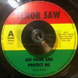 """Tenor Saw-7""""-Jah Guide &..."""