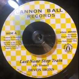 """Cannon Ball Records-7""""-Last..."""