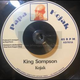 """Papa Kojak-7""""-King Sampson..."""