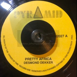 """Pyramid-7""""-Pretty Africa /..."""