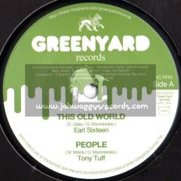 "Greenyard Records-10""-This Old World / Earl Sixteen + People / Tony Tuff"