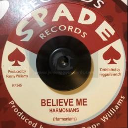 "Spade Records-7""-Believe Me..."
