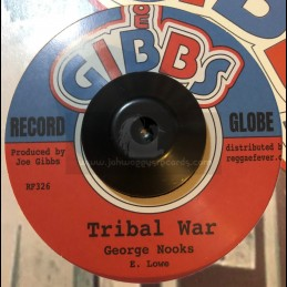 "Joe Gibbs-7""-Tribal War /..."