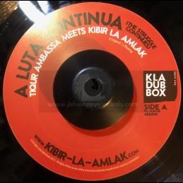 """K L A Dub Box-7""""-A Luta..."""