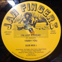 "Jah Fingers Records-12""-I m..."