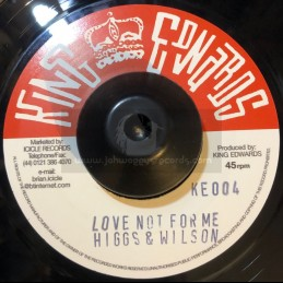 "King Edwards-7""-Love Not..."