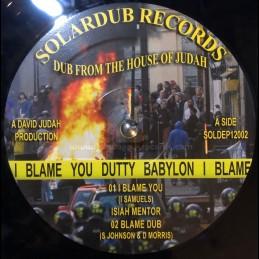 "Solardub Records-12""-I..."