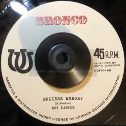 """Bronco-7""""-I'm Alone /..."""