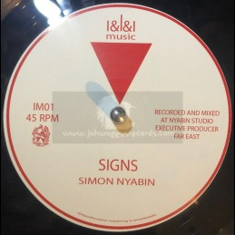 "I & I & I Music-12""-Signs +..."