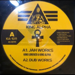 "King Alpha-10""-Jah Works /..."