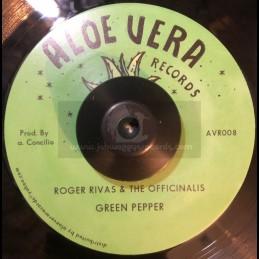 "Aloe Vera-7""-Green Pepper /..."