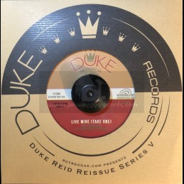 """Duke Records-7""""-Live Wire..."""