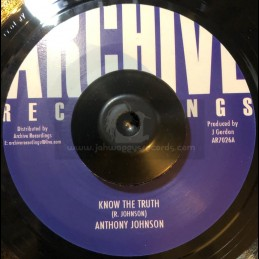 "Archice Recordings-7""-Know..."