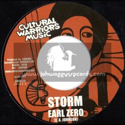 "Cultural Warriors Music-7""-Storm / Earl Zero (Jacin)"