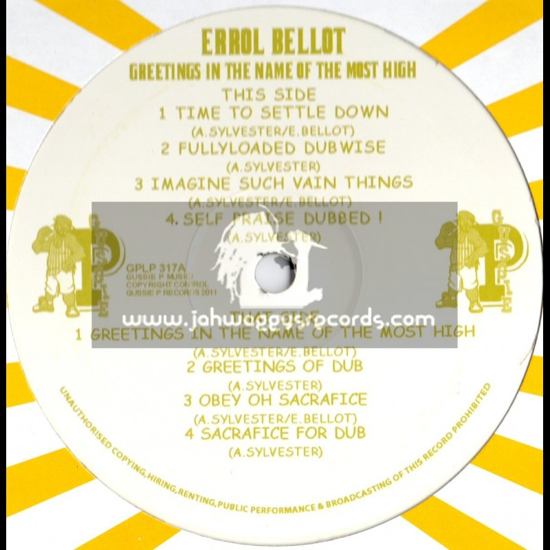 """Sip A Cup Showcase Vol-17-12""""-Greetings In The Name Of The Most High / Errol Bellot"""