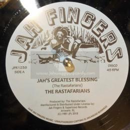 """Jah Fingers Music-12""""-Jah's..."""