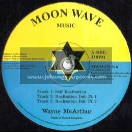 "Moon Wave Music-12""-Self Realisation + Jah Love Is The Reason Why / Wayne Mcarthur (Russ D)"