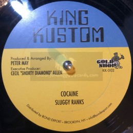 "King Kustom-12""-Cocaine /..."