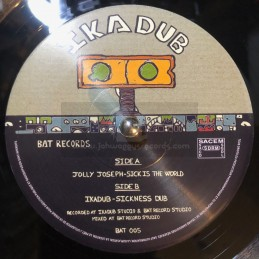 "Bat Records-7""-Sick Is The..."