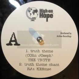 "High On Hope-12""-Truth..."