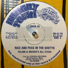"""Hungry Town-12""""-Rice And..."""