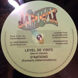 "Jamwax-12""-Level De Vibes /..."