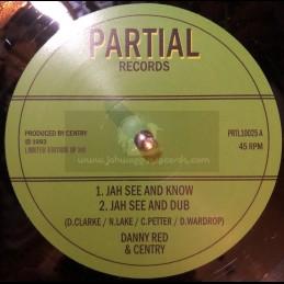 "Partial Records-10""-Jah See..."