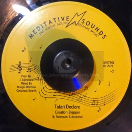 "Meditative Sounds-7""-Tafari..."