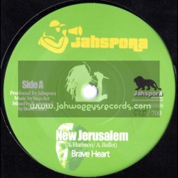 "Jahspora-7""-New Jerusalem / Brave Heart (LIMITED EDITION)"