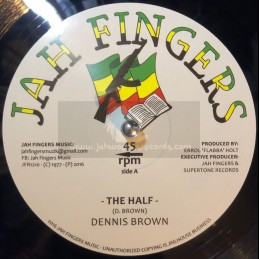 """Jah Fingers Music-12""""-The..."""