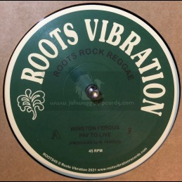 """Roots Vibration-12""""-Pay To..."""