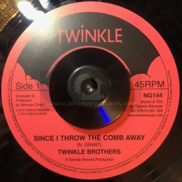 """Twinkle Brothers-7""""-Since I..."""