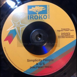"Iroko Records-7""-Simplicity..."