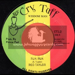 "Cry Tuff-7""-Run Run / Rod Taylor"