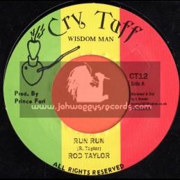 """Cry Tuff-7""""-Run Run / Rod Taylor"""