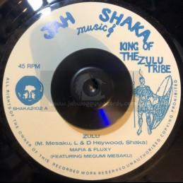"""Jah Shaka Music-7""""-Zulu /..."""