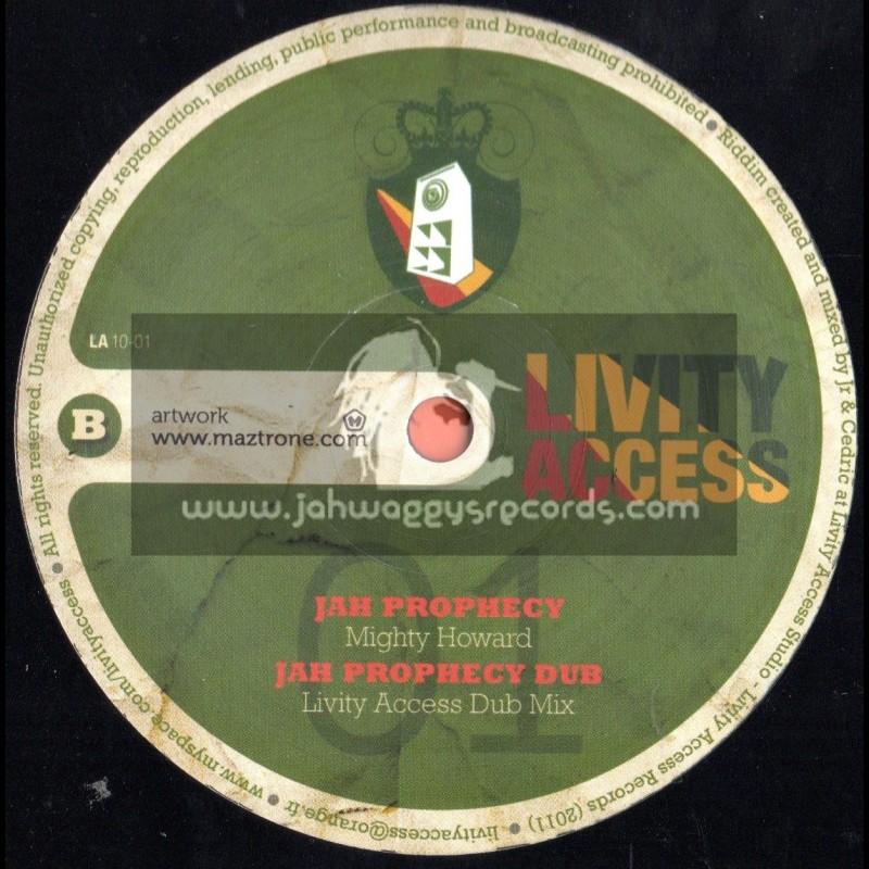 "Livity Access-10""-Mixite / Original Mad Mc + Jah Prophecy / Mighty Howard"