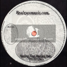 """Realeyes Music-10""""-Healing Time/Sister Gloria & Pocci+Stop The War/Pocci & The Real Eyes Players"""